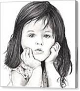 Little Girl Canvas Print