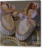 Little Girls To Pearls Canvas Print