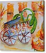 Little Harvest Wagon Canvas Print