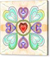 Little Hearts-2 Canvas Print