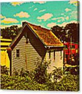 Little House - The World Around New York City Canvas Print