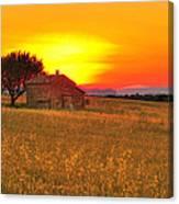 Little House On The Prairie Canvas Print