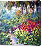 Little Ibis Bonnet House Canvas Print