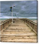 Little Island Pier Canvas Print