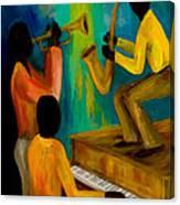 Little Jazz Trio I Canvas Print