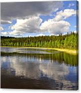 Little Lost Lake Canvas Print