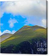 Little Man Skiddaw And Ullock Pike Canvas Print