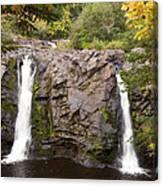 Little Manitou Falls Autumn 2 Canvas Print