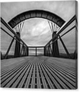 Little Mountain Sky Bridge Canvas Print