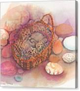 Little Mouse Nap Canvas Print