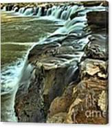 Little Niagara Canvas Print