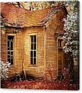 Little Old School House II Canvas Print