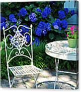 Little Patio Chair Canvas Print