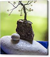 Little Pearl Tree Canvas Print