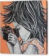 Little Pro Photographer Canvas Print