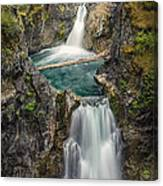 Little Qualicum Falls Canvas Print