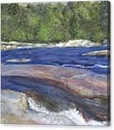 Little Rapids Canvas Print