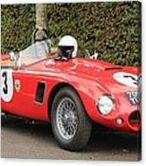 Little Red Ac Bristol Racer Canvas Print