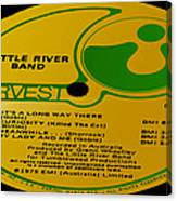 Little River Band It's A Long Way There Side 1 Canvas Print