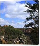 Little River Canyon Alabama Canvas Print
