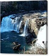 Little River Falls Canvas Print