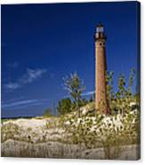 Little Sable Point Light No.0285 Canvas Print