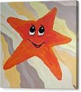 Little Starfish Canvas Print