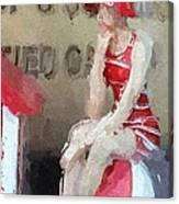 Little Toy Shop Princess Canvas Print