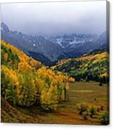 Little Meadow Of The Sublime Canvas Print