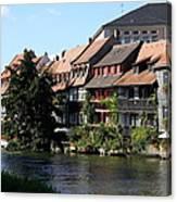 Little Venice - Bamberg - Germany Canvas Print