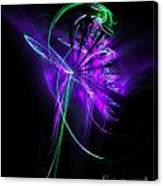 Little Violet Flower Canvas Print