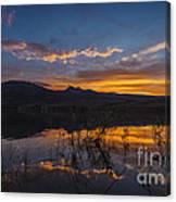 Little Washoe Summer Reflections Canvas Print