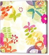 Little Watercolor Garden Canvas Print