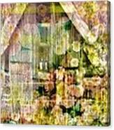 Little Witch Cottage Canvas Print