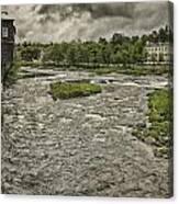 Littleton Mill Canvas Print