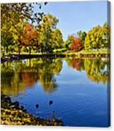 Littleton Pond 1 Canvas Print