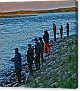 Liturgy Of The Salmon Fishing. Doctor Andrzej Goszcz. Canvas Print