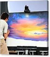 Live Artist Justin Roberts Rw2k14 Canvas Print