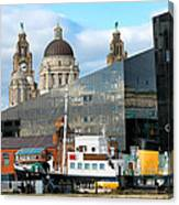 Liverpool Docklands Canvas Print