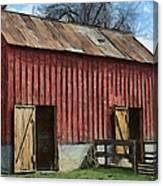 Livestock Barn Canvas Print