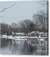 Living By The River Canvas Print