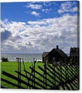 Living By The Sea Canvas Print