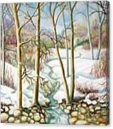 Living Creek Canvas Print