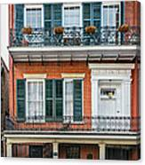 Living High In The French Quarter Canvas Print