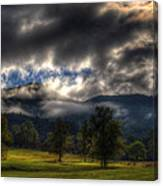 Living In The Clouds Of Western North Carolina Canvas Print