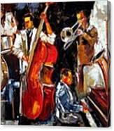Living Jazz Canvas Print