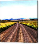 Living On Back Roads Canvas Print