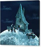 Living On The Moon Canvas Print