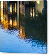 Living On The Water - 3 Canvas Print