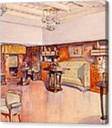 Living Room, 1905 Canvas Print